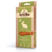 Лакомство AlpenHof Колбаски баварские для кошек c кроликом и печенью, 3 шт....