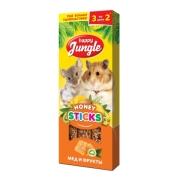 Лакомство Happy Jungle мед и фрукты для мелких грызунов...