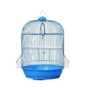 Клетка №1 для птиц круглая, укомплектованная, 33*53 см...