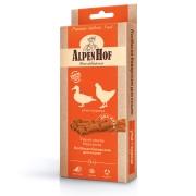 Лакомство AlpenHof Колбаски баварские для кошек с уткой и курицей, 3 шт....