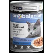 Консервы ProBalance Sterilized для стерилизованных кошек, 415гр...