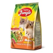 Корм Happy Jungle мышей и песчанок, 400гр