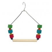 Игрушка для птиц Ferplast PA 4084 качели с деревянными игрушками...