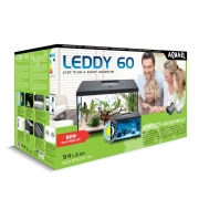 Аквариум Aqua El Leddy Set Plus D&N 60 54л белый