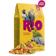 Корм RIO Гурмэ для средних и крупных попугаев, 250гр...