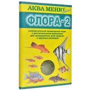 """Корм Аква меню """"ФЛОРА 2"""" ежедневный корм с растительными добавками для..."""