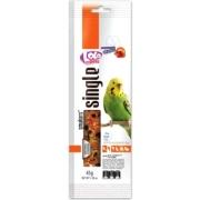 Лакомство LoLo Pets Smakers Weekend Style для попугаев палочки с фруктами 45гр...