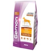 Gemon Dog Maxi корм для взрослых собак крупных пород курица с рисом 15 кг...