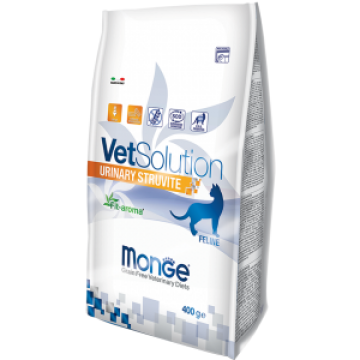 Сухой корм Monge VetSolution Cat Urinary Struvite для профилактики и лечения мочекаменной болезни струвитного типа