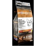 Сухой корм ProBalance Immuno Adult с говядиной для взрослых собак, 15 кг...