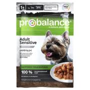 ProBalance Sensitive для взрослых собак с чувствительным пищеварением, пауч 100 ...