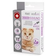 Капли Ms. Kiss Ecolife Extra-Immuno для укрепления иммунитета котят и кошек...