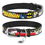 """Ошейник Collar WAUDOG Design DC Comics """"Бэтмен 1"""" Черный..."""