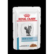 Влажный корм Royal Canin Skin & Coat Formula (в соусе) для взрослых кошек с ...