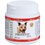 Витамины Polidex Protevit Plus для собак (150шт)