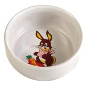 Миска Trixie керамическая с рисунком кролика d=11см 300мл...