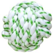 Игрушка CanineClean для собак Мячик из каната 8 см с ароматом мяты...