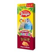 Лакомство Happy Jungle мед и орехи для птиц 3 шт.