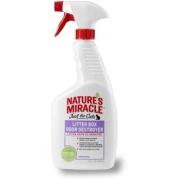 Средство 8in1 для устранения запаха в кошачьем туалете NM Litter Box Odor Destro...
