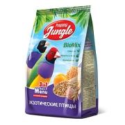 Корм Happy Jungle для экзотических птиц, 500гр