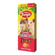 Лакомство Happy Jungle мед и ягоды для мелких грызунов...