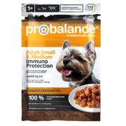 Probalance Small/Medium Immuno Protection для взрослых собак малых и средних пор...
