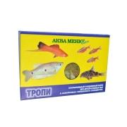 """Корм Аква меню """"Тропи"""" хлопья для рыб в аквариуме смешанного сообществ..."""