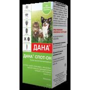 Apicenna: Дана Спот-Он капли от блох, клещей, вшей, власоедов для кошек и собак,...