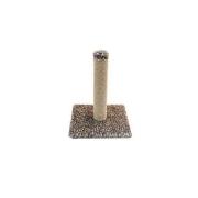 Когтеточка Лаурон столбик (джут, мех. узор) 30*30*42см....