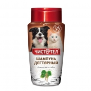 Шампунь Чистотел Дегтярный для собак и кошек 220 мл...