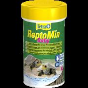 Tetra ReptoMin Baby корм для молоди водных черепах 100 мл...