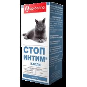Apicenna: Стоп-Интим капли для котов, 2мл