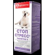 Apicenna: Стоп-Стресс 500мг для собак крупных пород, 20табл....