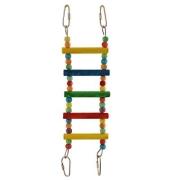 Игрушка для птиц Triol Лестница с бусинами 28*7,5 см...