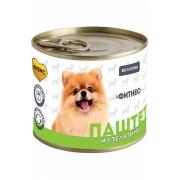 Консервы Мнямс «ФИТНЕС» Паштет из телятины для собак всех пород 200 г...