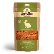 Лакомство AlpenHof Медальоны из кролика для мелких собак и щенков, 50г...