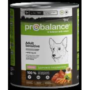 Консервы Probalance Sensitive для взрослых собак с чувствительным пищеварением с...