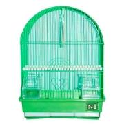 Клетка №1 для птиц овальная, укомплектованная 30*23*39см...