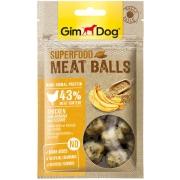 Лакомство GimDog дополнительный корм из курицы с бананом и кунжутом для собак - ...