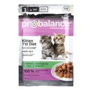 ProBalance 1'st Diet для котят с кроликом в желе, пауч 85 гр...
