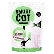 Силикагелевый наполнитель Smart Cat для чувствительных кошек, без аромата...
