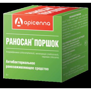 Apicenna: порошок Раносан для лечения ран, 5г