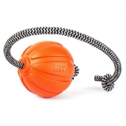 Игрушка LIKER Мяч Корд для собак на шнуре
