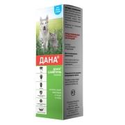 Apicenna: шампунь Дана от блох, вшей, клещей для кошек и собак, 145мл...