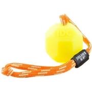 Игрушка JULIUS-K9 для собак Мяч с ручкой 6см, флуоресцентный, силикон...