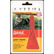 Apicenna: Дана Ультра (1 пип) капли от блох 0,64 мл для кошек более 4 кг 0,64 мл...