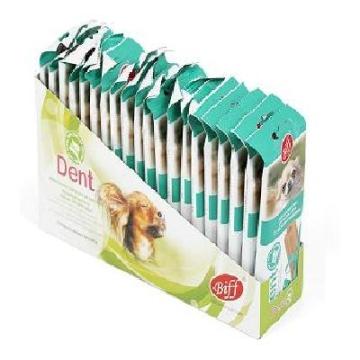 """Лакомство Biff снек """"Dent"""" для чистки зубов вкус говядины для собак мелких пород (5 шт)"""