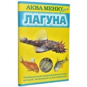 """Корм Аква меню """"Лагуна"""" ежедневный для донных рыб 35гр (упаковка 5шт)..."""
