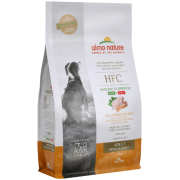 Сухой корм Almo Nature HFC Adult Fresh Chicken M-L со свежей курицей для взрослы...