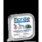 Консервы Monge Dog Monoprotein Fruits консервы паштет из ягненка с черникой для ...
